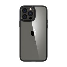 Kryt SPIGEN Crystal Hybrid pro Apple iPhone 13 Pro - matný - černý / průhledný