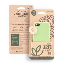 Kryt FORCELL BIO - pro Apple iPhone 7 / 8 - Zero Waste kompostovatelný kryt - zelený