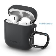 Pouzdro / obal SPIGEN pro Apple AirPods - silikonové - šedé