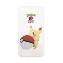 Kryt pro Apple iPhone 7 / 8 gumový - Pokemon Go / Pikachu