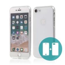 Pouzdro pro Apple iPhone 7 / 8 - celotělové - průhledné - gumové