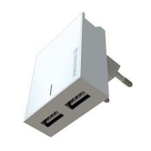 2v1 nabíjecí sada SWISSTEN pro Apple zařízení - EU adaptér (2x USB) a kabel MFi Lightning 1,2m