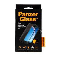 Tvrzené sklo (Tempered Glass) PANZERGLASS pro Apple iPhone X / Xs / 11 Pro - 3D hrana - černé - 0,4mm