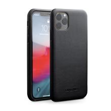 Kryt QIALINO pro Apple iPhone 11 Pro Max - pravá kůže - černý