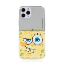 Kryt Sponge Bob pro Apple iPhone 11 Pro Max - gumový - potutelný Sponge Bob