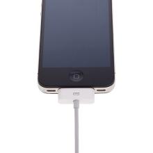 Synchronizační a nabíjecí kabel s 30pin konektorem pro Apple iPhone / iPad / iPod - bílý