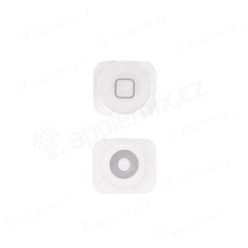 Tlačítko Home Button pro Apple iPhone 5 / 5C - bílé - kvalita A+