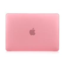 """Obal / kryt pro MacBook Air / Air M1 (2018-2021) 13"""" (A1932, A2179, A2337) - plastový - růžový"""