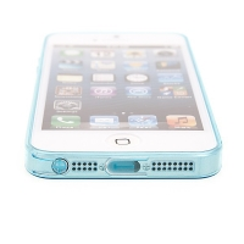 Kryt  pro Apple iPhone 5 / 5S / SE (tl. 0,5mm) - antiprachová záslepka - průhledný