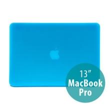 Tenký ochranný plastový obal pro Apple MacBook Pro 13 (model A1278) - matný - modrý