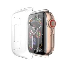 Kryt pro Apple Watch Series 4 / 5 / 6 / SE 40mm - plastový - průhledný