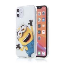 Kryt MIMONI pro Apple iPhone 11 - gumový - smějící se mimoň
