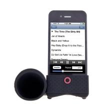 Přenosný stojánek s reproduktorem pro Apple iPhone