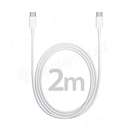 Originální Apple USB-C synchronizační a nabíjecí kabel - 2m - bílý