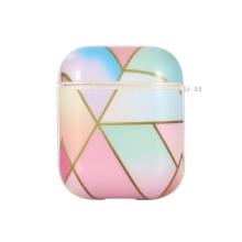 Pouzdro / obal pro Apple AirPods - gumové - barevné plochy