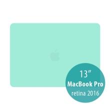 Obal / kryt pro MacBook Pro 13 Retina 2016 / 2017 (A1706, A1708) - plastový - zelený