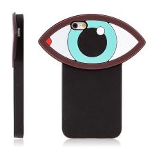 Kryt pro Apple iPhone 6 / 6S silikonový - 3D oko