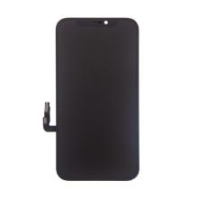 OLED panel + dotykové sklo (touch screen digitizér) pro Apple iPhone 12 / 12 Pro - černý - kvalita A