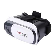 Virtuální brýle VR BOX 3D - černé + bílý Bluetooth ovladač