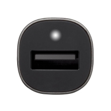 2v1 nabíjecí sada INCASE pro Apple zařízení - autonabíječka USB (2.4A) + MFi certifikovaný kabel Lightning - šedá