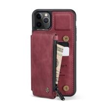 Pouzdro CASEME pro Apple iPhone 11 Pro - pouzdro pro platební karty - červené