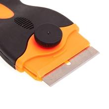 Žiletka / škrabka pro odstranění lepidla při servisní činnosti - profesionální - s rukojetí