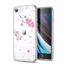 Kryt ESR Mania pro Apple iPhone 7 / 8 / SE (2020) - průhledný - kvetoucí sakura