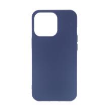 Kryt pro Apple iPhone 13 Pro Max - gumový - tmavě modrý