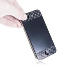 3D ochranná fólie pro Apple iPhone 4 / 4S (přední a zadní) - magická kolečka