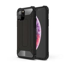 Kryt pro Apple iPhone 11 Pro Max - odolný - plastový / gumový - černý
