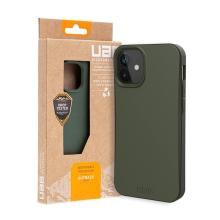 Kryt UAG Outback pro Apple iPhone 12 mini - kompostovatelný kryt - olivový