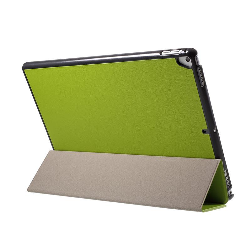 Pouzdro / kryt pro Apple iPad Pro 12,9 - integrovaný stojánek - umělá kůže - zelené