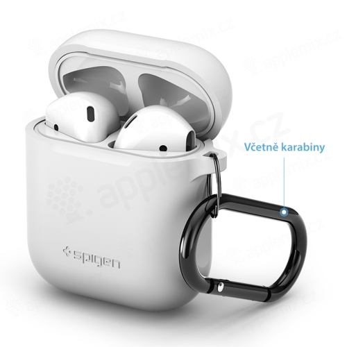 Pouzdro / obal SPIGEN pro Apple AirPods - silikonové