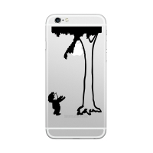Samolepka ENKAY Hat-Prince na Apple iPhone 6 / 6S / 7 / 6 Plus / 6S Plus / 7 / 7 Plus - chytej!