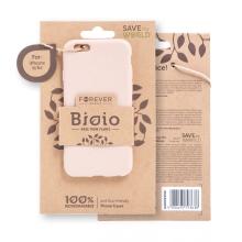 Kryt FOREVER BIOIO - pro Apple iPhone 6 / 6S - Zero Waste kompostovatelný kryt - pískově růžový
