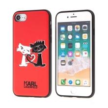 Kryt KARL LAGERFELD pro Apple iPhone 7 / 8 - umělá kůže