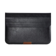 Pouzdro / brašna ROCK pro Apple MacBook 12 Retina elegantní tenké - integrovaný stojánek - černé