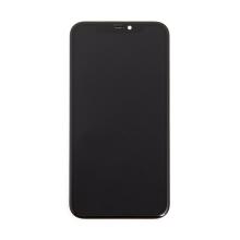 LCD panel + dotykové sklo (touch screen digitizér) pro Apple iPhone 11 - černý - kvalita A+