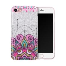 Kryt HOCO pro Apple iPhone 7 / 8 - gumový - růžová mandala