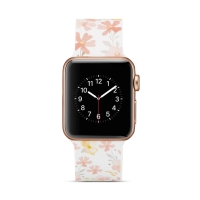 Řemínek pro Apple Watch 44mm Series 4 / 42mm 1 2 3 - silikonový