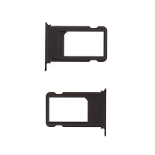 Rámeček / šuplík na Nano SIM pro Apple iPhone 7 Plus - černý (Black)