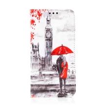 Pouzdro pro Apple iPhone 11 Pro Max - umělá kůže - milenci v Londýně