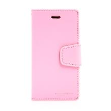 Pouzdro Mercury Sonata Diary pro Apple iPhone 7 / 8/ SE (2020) - stojánek a prostor na doklady - růžové