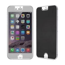 Super odolné privacy tvrzené sklo (Tempered Glass) na přední část Apple iPhone 6 / 6S - tmavé - 0,3mm