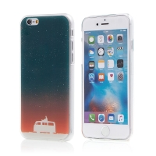 Kryt pro Apple iPhone 6 / 6S - plastový - hvězdy a mikrobus