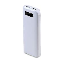 Univerzální 20000mAh externí baterie s 2 USB porty a LED baterkou pro Apple iPhone / iPad / iPod a další zařízení