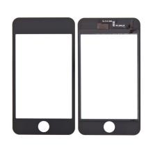 Přední dotykové sklo (touch screen) pro Apple iPod touch 2.gen. - černý rámeček - kvalita A+
