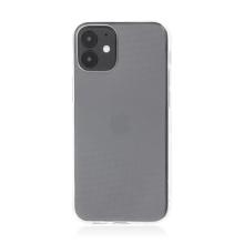 Kryt pro Apple iPhone 12 mini - ultratenký - gumový - průhledný