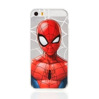 Kryt MARVEL pro Apple iPhone 5 / 5S / SE - Spider-Man - gumový