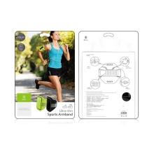 Sportovní pouzdro BASEUS pro Apple iPhone 6 / 6S / 7 / 8 - ultratenké - černé + reflexní prvky
